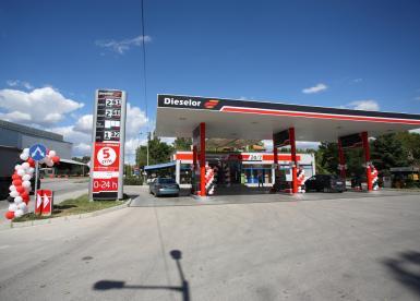 Fifth petrol station