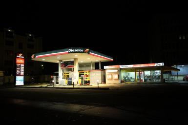 New petrol station in Varna