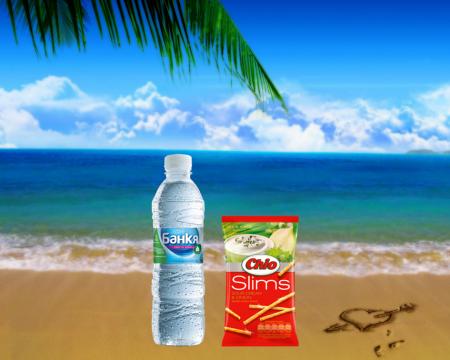 Mineral water Bankya + Chio st