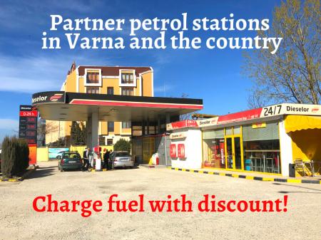 Partner petrol stations Diesel