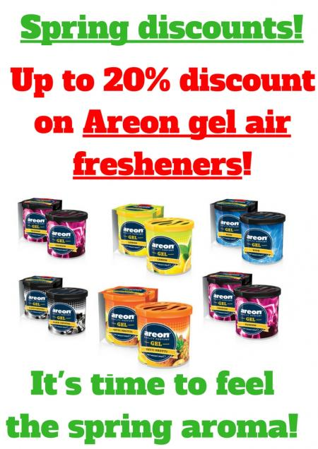 Spring aroma discounts in petr
