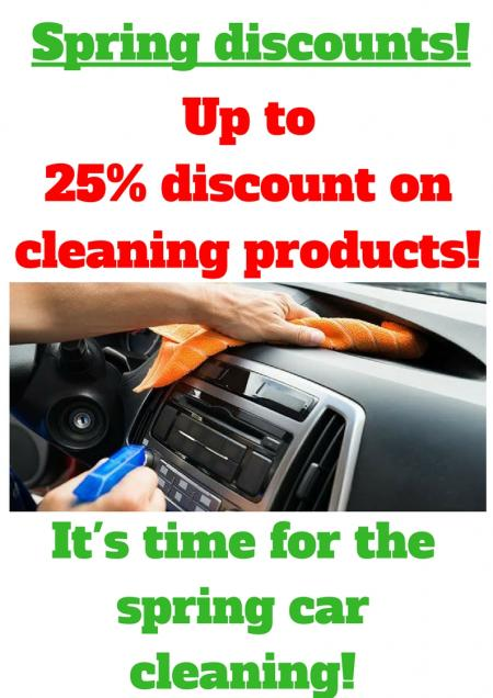 Promotion: Spring car cleaning